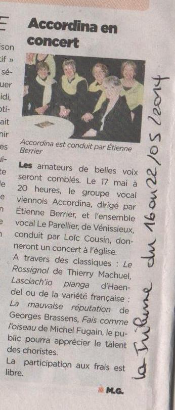 Concert 22 05 2014